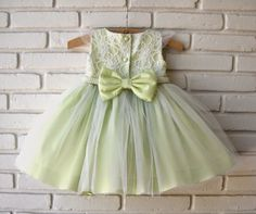 Atelier ly.ko Girls Party Dress, Baby Girl Dresses, Little Dresses, Pretty Dresses, Baby Dress, Flower Girl Dresses, Fashion Kids, Little Girl Fashion, Toddler Outfits