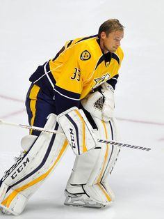 Pekka Rinne - Nashville Predators preseason game 2015
