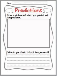 FREE Making Predictions Worksheet: A high-interest way to practice ...
