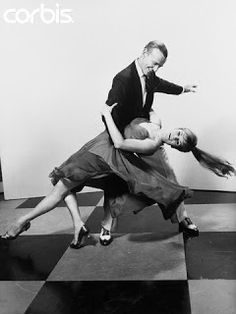Fred Astaire and Barrie Chase