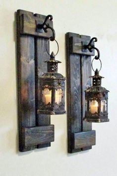 20 best rustic lighting fixtures and ideas, beste rustikale Beleuchtungskörper und Ideen , 20 best rustic lighting fixtures and ideas body - Rustic Wall Decor, Rustic Walls, Farmhouse Decor, Rustic Room, Bedroom Rustic, Rustic Theme, Woodworking Projects Diy, Diy Wood Projects, Wood Crafts
