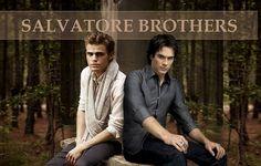Gotta Love the Salvatore Brothers I love this show ! Vampire Diaries Wallpaper, Vampire Diaries Stefan, Vampire Diaries The Originals, Damon And Stefan Salvatore, The Salvatore Brothers, Vampire Dairies, Mystic Falls, Hot Actors, Delena