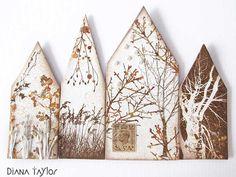 Winter Houses by Velvet Moth Studio
