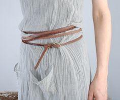 Hazel Brown — 11.2.24 extra long skinny belt