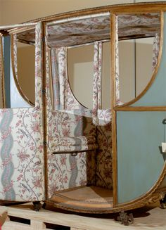 The interior of the carriage that takes Antonia, Duchess of Kinross to Banks House looks much like this. Very feminine and very French. 18th Century Clothing, 18th Century Fashion, Modern Decorative Objects, Banks House, Horse Carriage, Family Jewels, Antique Chairs, Vintage Pictures, Modern Chairs