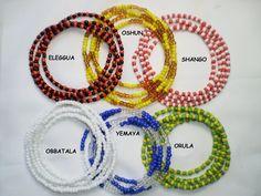 Santeria. Yoruba Eleke necklace for orishas. by TIENDAAMERICAN
