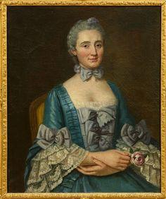 Dame Anne-Marie Turpin de Crissé de Sanzay, Comtesse de Simiane d'Esparon (1714-1748).