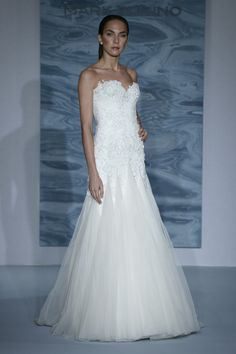 Mark Zunino For Kleinfeld Runway Show during Fall 2015 Bridal Collection at Kleinfeld on October 14, 2014 in New York City.