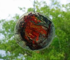 Elements sun catcher: earth, wind, Fire and water