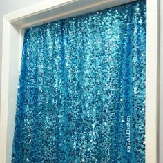 Turquoise Blue Sequin Backdrop - STARTING AT $25!!! Sequin Table Cloth by myTALEfeathers - bride, wedding, bachelorette party, blue, bridal shower, sweetheart, photobooth, cruise, party ideas, photography backdrop, booty veil, mermaid theme, Vegas, boudoir, valentine's day, romantic, first birthday love - Backdrop - Table Cover - Bachelorette Party - Photobooth Backdrop - Dessert/ Sweetheart Table - Boudoir Gives the perfect amount of BLING to any photo! Sequin material is slightly sheer.