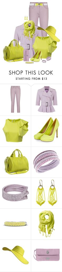 """""""Lavender"""" by vesper1977 ❤ liked on Polyvore featuring Sandwich, French Connection, Chicnova Fashion, Alexander Wang, Swarovski, Repossi, Toast, Gemvara, Love Quotes Scarves and Baggallini"""