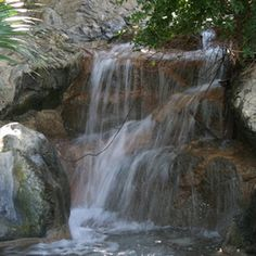 Waterfalls are appealing and relaxing.