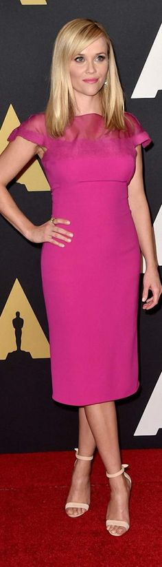 Reese Witherspoon In Ralph Lauren Collection – Academy Of Motion Picture Arts And Sciences' Governors Awards