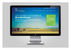 Website design and build for HR headhunters Sapsed Stevens.