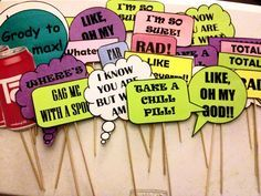 1980's photo booth words - Google Search