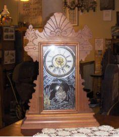 Antique Gingerbread clock....