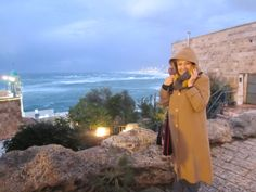 First day with the group in Tel Aviv -Rain and Strong Winds www.MabelKatz.com