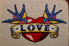 tattoo cross stitch
