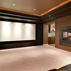 Home theater. Wow.