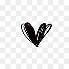 Picsart Png, Overlays Picsart, Polaroid Frame Png, Doodle Images, Black Heart, Paper Background, Artsy, Photoshop, Clip Art