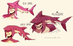 Another shark that makes Sidon look evil I mean really? The megalodon really? But besides that the nurse shark version of Sidon looks soooo adorable! The Legend Of Zelda, Legend Of Zelda Memes, Legend Of Zelda Breath, Geeks, Prince Sidon, Botw Zelda, Fanart, Twilight Princess, Breath Of The Wild