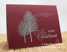 PB-Embossed-Card-2-by-AmyR ~ Stamps: Snow Dust (Penny Black) and Fanciful Christmas Sentiments (AmyR Stamps)