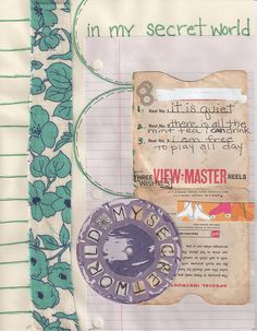 Journal Page 25 - My Secret World | Flickr - Photo Sharing!