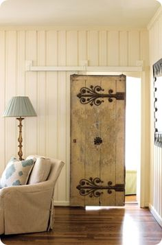 Absolutely my favorite sliding barn door