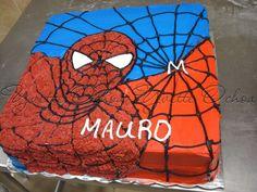 Pastel de spiderman en Mexicali / Spiderman cake