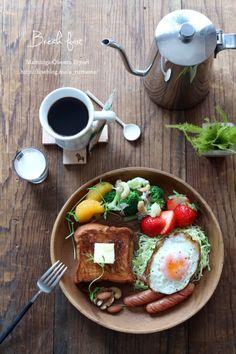 K Food, Food Menu, Eat Pretty, Western Food, Breakfast Menu, English Food, Food Presentation, Food Design, Food Dishes