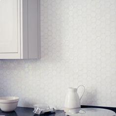 Copper Mountain Hexagon - Iridescent Glass Mosaic - Wall & Floor Tiles | Fired Earth