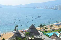 Vista de Playa Icacos. Acapulco Guerrero, México