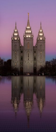 Salt Lake City Temple, Utah, USA