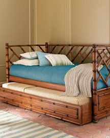 Found a rattan daybed!!! Not just like this, but it will do!
