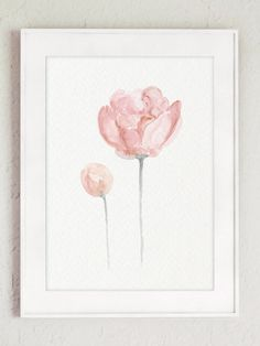 Shabby Chic Decor Floral Arrangement Art Print Gift Idea. Baby Girl Pink Peony Nursery Room Decoration. Rustic Living Room Wall Decoration. Kids Watercolor Painting. Type of paper: Prints up to (42x29,7cm) 11x16 inch size are printed on Archival Acid Free 270g/m2 White Watercolor Fine Art Paper and retains the look of original painting. Larger prints are printed on 200g/m2 White Semi-Glossy Poster Paper. Colors: Archival high-quality 10-cartridge Canon Lucia Pigment Inks with a dr...
