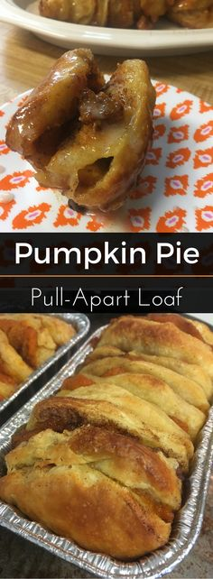 This tasty, seasonal sweet-bread loaf is perfect for breakfast or an evening sweet treat. Enjoy! | Pumpkin Pie Pull-Apart Loaf | Best Choice Brand