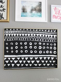 *This post contains affiliate links. A couple weeks ago I posted about the new gallery wall that I put together in our Master bedroom. I made a few new pieces of art for the gallery wall, and the one I'm sharing with you guys today is definitely my favorite. This DIY Geometric Art was inspired...Read More »