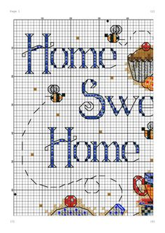 ru / Photo # 1 - Welcome 7 - cnekane Cross Stitch House, Cross Stitch Kitchen, Cross Stitch Charts, Cross Stitch Designs, Cross Stitch Patterns, Cross Stitching, Cross Stitch Embroidery, Sewing Crafts, Sewing Projects