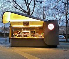 Les Tasters: Choux d'enfer, kiosque de street food de Michalak