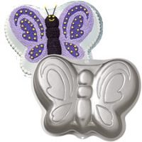Buy Wilton - Butterfly Pan online and save! Watch our brilliant butterfly magically transform your next party. A butterfly cake or molded salad is the perfect way to captivate birthday and showe. Wilton Cake Pans, Cake Baking Pans, Cake Mold, Wilton Baking, Butterfly Cakes, Butterfly Birthday, Butterfly Shape, Butterfly Party, Butterflies