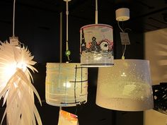 Cross Stitch Lamps apartment