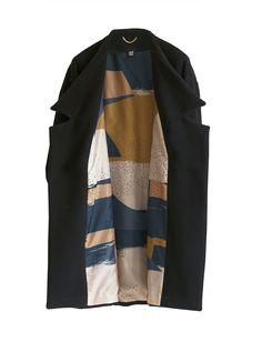 The Minimal Coat Aurora, Minimalism, Duster Coat, Kimono, Jackets, Outfits, Coats, Studio, Fashion