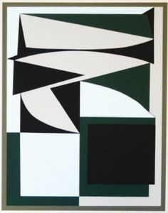VICTOR VASARELY (1908-1997) EZINOR, c.1949