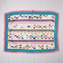 ONE-OF-A-KIND VANI QUILTED THROW