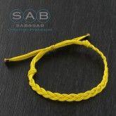 Bracelet lien tresse, à porter seul ou à deux, trois…Création française Sab