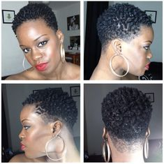 A woman who cuts her hair is about to change her life. - March 02 2019 at Short Natural Styles, Short Natural Haircuts, Tapered Natural Hair, Natural Big Chop, Natural Hair Twa, Cabello Afro Natural, Twa Hairstyles, Black Hairstyles, Twa Haircuts