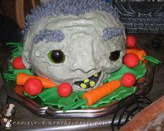 Head on a Platter Halloween Cake Idea... Coolest Birthday Cake Ideas