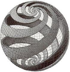 Escher - zentangle before it was cool.