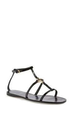 Tory Burch 'Lowell' Leather Sandal (Women) available at #Nordstrom