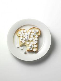 Frank Brandwijk Happy Pills, Conceptual Photography, Photo Illustration, Mental Illness, Pharmacy, Food Art, Drugs, Alprazolam Xanax, Storyboard